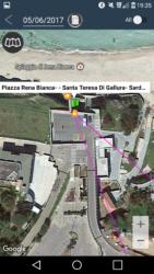 Localizzazione gps di un auto a Santa Teresa Gallura (OT)